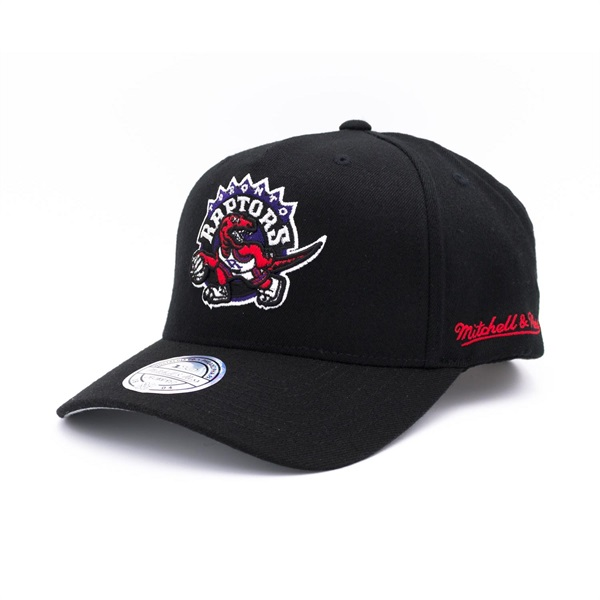 75c3343a2f5a5 Mitchell   Ness Toronto Raptors 110 FlexFit Curved Easy Snapback NBA Cap