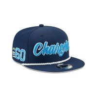 Los Angeles Chargers 2019 NFL On-Field Sideline 9FIFTY Snapback Cap Home