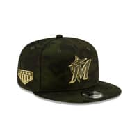 Miami Marlins 2019 Armed Forces Day 9FIFTY Snapback MLB Cap