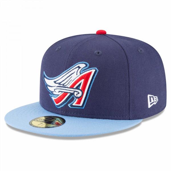 timeless design c51b6 d2afd New Era Anaheim Angels 1997 Cooperstown 59FIFTY Fitted MLB Cap   TAASS.com  Fan Shop