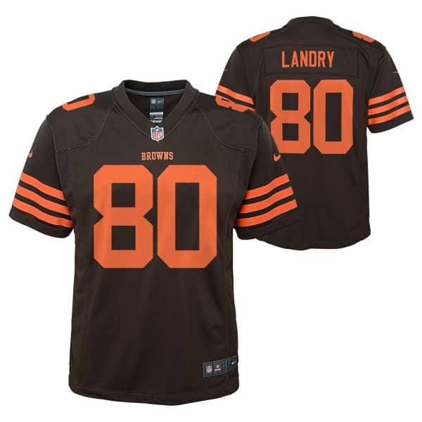 huge selection of c7ea3 21766 Jarvis Landry #80 Cleveland Browns Color Rush Youth NFL Jersey (KIDS)
