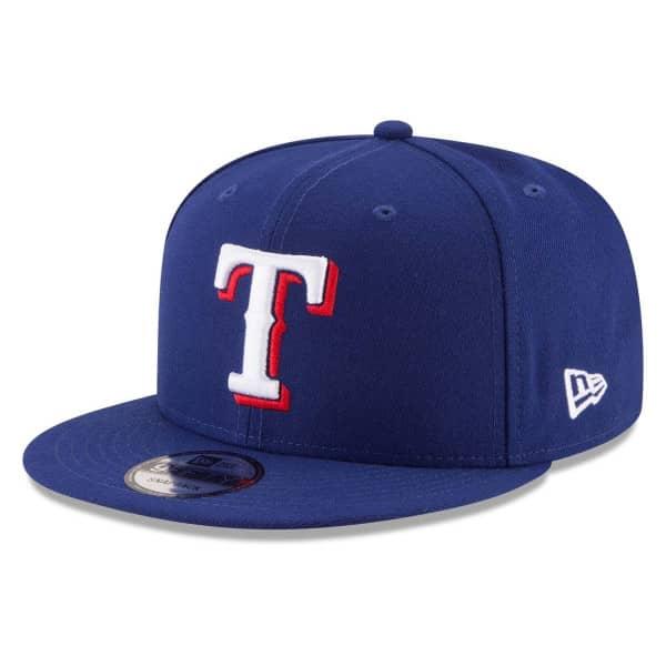 Texas Rangers Basic Logo New Era 9FIFTY MLB Snapback Cap