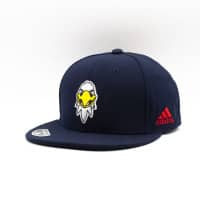 Washington Capitals Mascot Logo adidas NHL Snapback Cap Navy