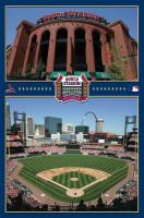 St. Louis Cardinals Busch Stadium Baseball MLB Poster RP4072