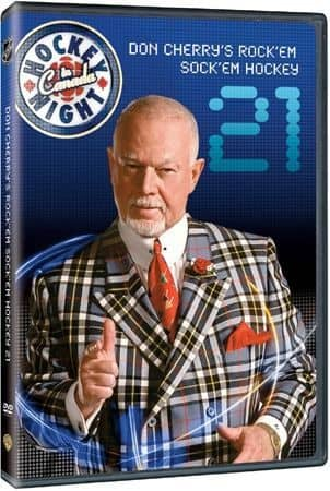 Don Cherry #21 NHL DVD Rock'em Sock'em Hockey