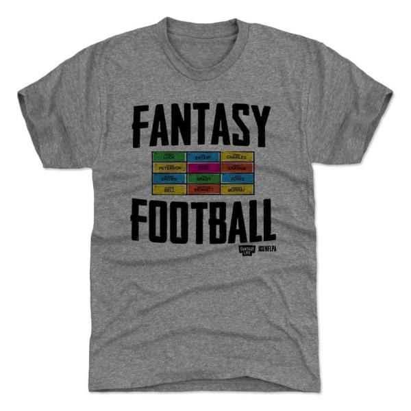 Fantasy Football Draft Board T-Shirt