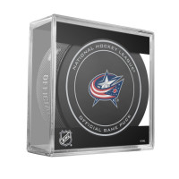 Columbus Blue Jackets NHL Official Game Puck (2018)