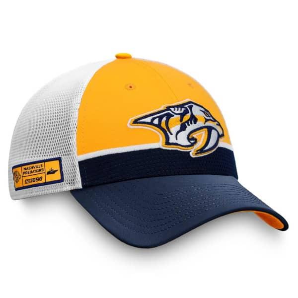 Nashville Predators 2020 NHL Draft Authentic Pro Fanatics Snapback Trucker Cap