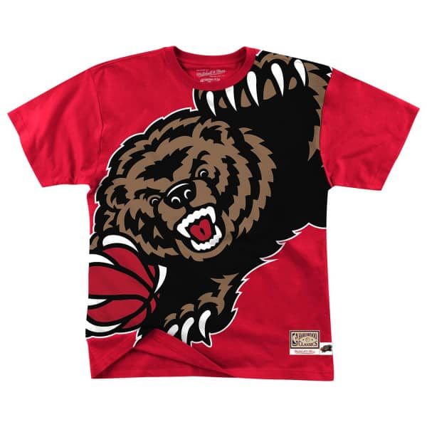 Vancouver Grizzlies Big Face Mitchell & Ness HWC NBA T-Shirt
