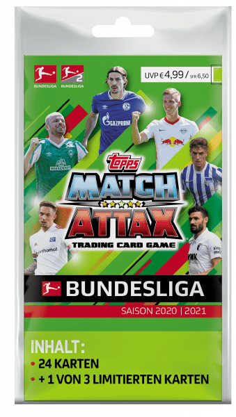 2020/21 Topps Match Attax Bundesliga Blister Pack