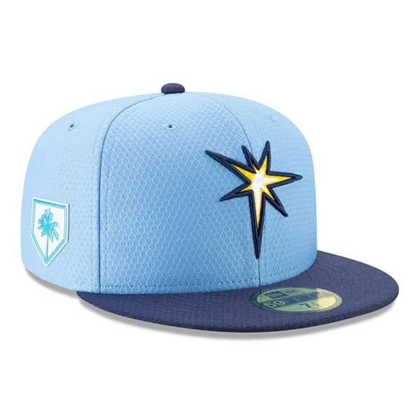 Tampa Bay Rays 2019 Spring Training 59FIFTY Fitted MLB Cap Alternate 2