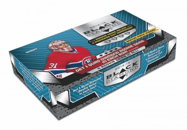 2014/15 Upper Deck Black Diamond Hockey Hobby Box NHL