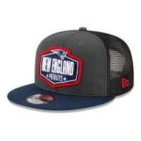 New England Patriots Official 2021 NFL Draft New Era 9FIFTY Snapback Cap