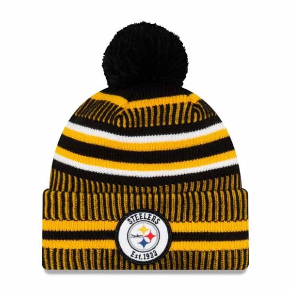 Pittsburgh Steelers 2019 NFL Sideline Sport Knit Wintermütze Home