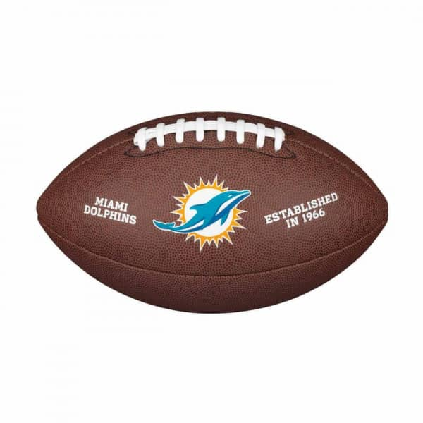 Miami Dolphins Composite Full Size NFL Football