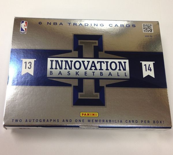2013/14 Panini Innovation Basketball Hobby Box NBA