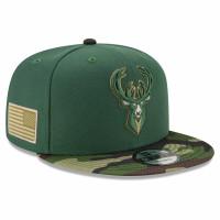 Milwaukee Bucks 2021 NBA All-Star Game Flash Camo New Era 9FIFTY Snapback Cap