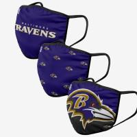 Baltimore Ravens NFL Face Mask Mundschutz MNS (3er-Pack)