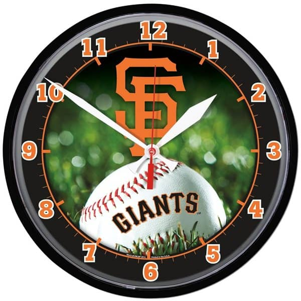 San Francisco Giants Baseball MLB Wanduhr