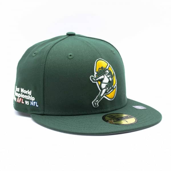 Green Bay Packers Throwback First World Championship New Era 59FIFTY Fitted NFL Cap