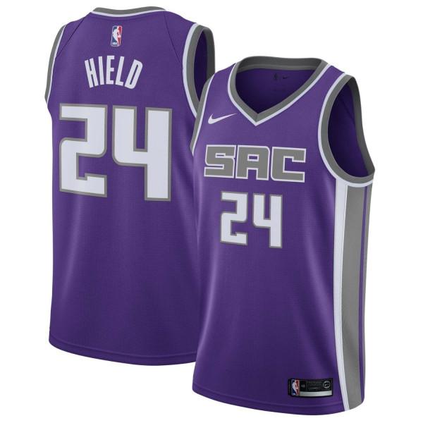 Buddy Hield #24 Sacramento Kings Icon Swingman NBA Trikot Lila