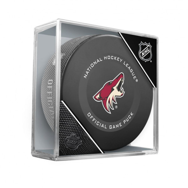 Arizona Coyotes NHL Official Game Puck