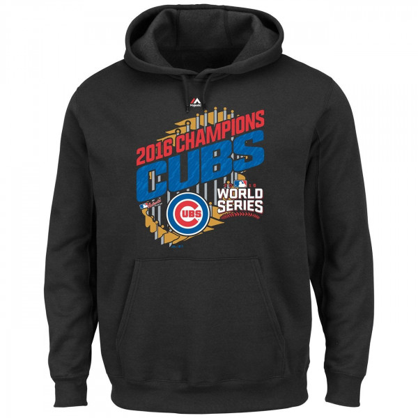 Chicago Cubs 2016 World Series Champs Parade MLB Hoodie