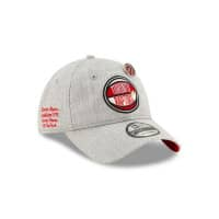 Toronto Raptors 2019 NBA Draft 9TWENTY Adjustable Cap Heather Grey