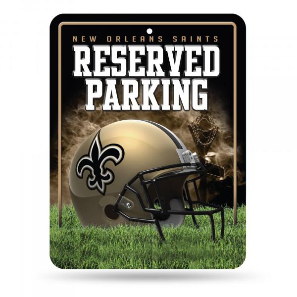New Orleans Saints Reserved Parking NFL Metallschild