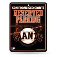 San Francisco Giants Reserved Parking MLB Metallschild