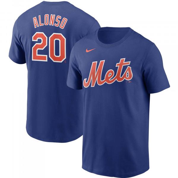 Pete Alonso #20 New York Mets Nike Player MLB T-Shirt Blau