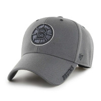 Boston Bruins Defrost '47 MVP Adjustable NHL Cap Charcoal