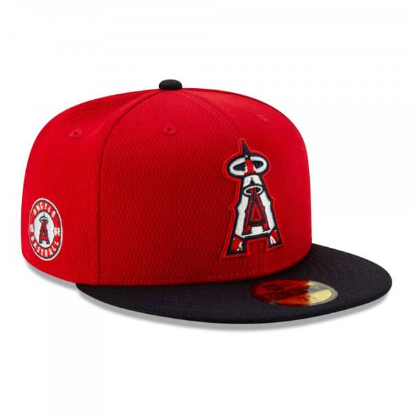 Los Angeles Angels 2021 MLB Authentic Batting Practice New Era 59FIFTY Fitted Cap