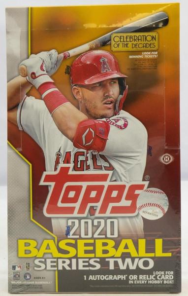 2020 Topps Series 2 Baseball Hobby Box MLB