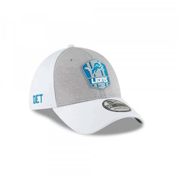 low priced 14f74 c0da7 New Era Detroit Lions 2018 NFL Sideline 39THIRTY Flex Cap Road   TAASS.com  Fan Shop