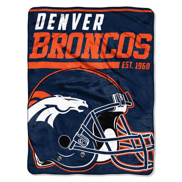 Denver Broncos Super Plush NFL Decke
