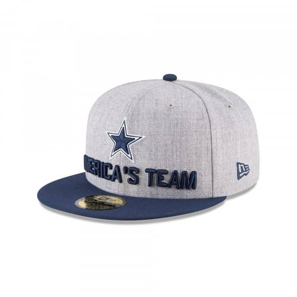 d05ade02 Dallas Cowboys 2018 NFL Draft 59FIFTY Fitted Cap