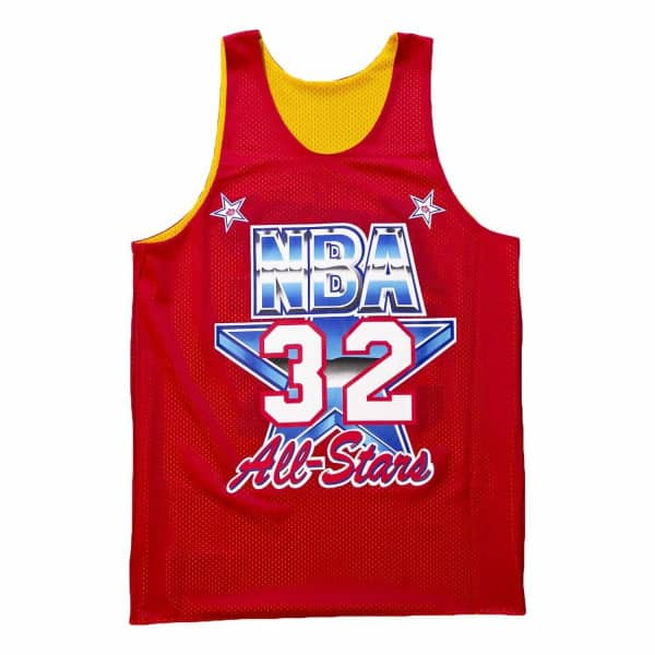 9e14d25cb654 Mitchell   Ness Magic Johnson Los Angeles Lakers All-Star Reversible Mesh  NBA Tank Top