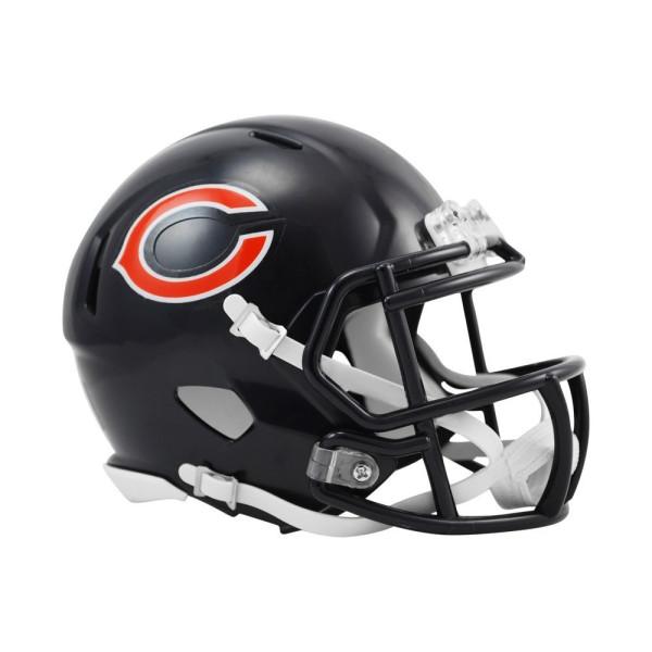 Chicago Bears American Football NFL Speed Mini Helm