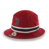 Boston Red Sox Striped MLB Bucket Hut