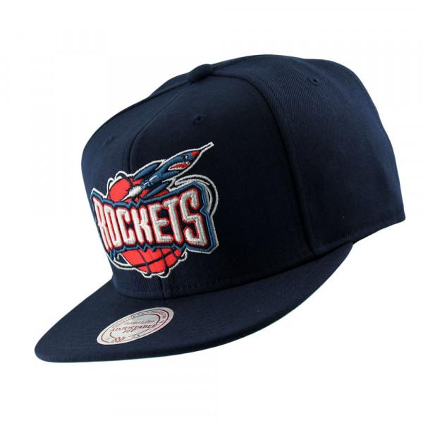 Houston Rockets Wool Solid Snapback NBA Cap Navy