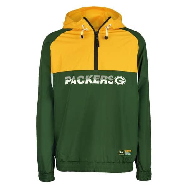 Green Bay Packers 2019 Color Block NFL Windbreaker Jacke