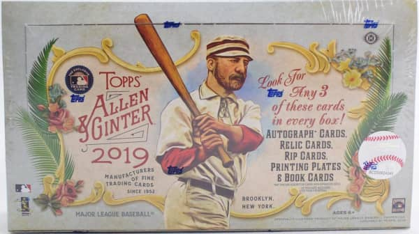 2019 Topps Allen & Ginter Baseball Hobby Box MLB