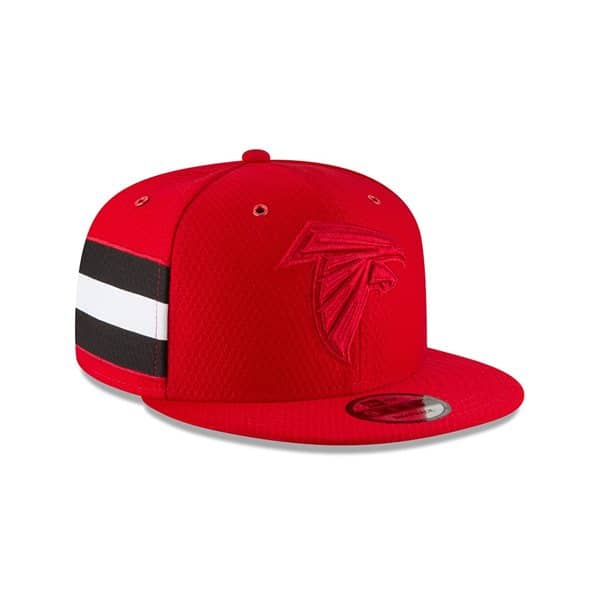 7249ae21faa366 New Era Atlanta Falcons 2018 Color Rush 9FIFTY NFL Snapback Cap | TAASS.com  Fan Shop
