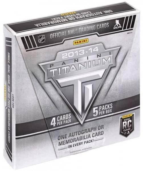 2013/14 Panini Titanium Hockey Hobby Box NHL