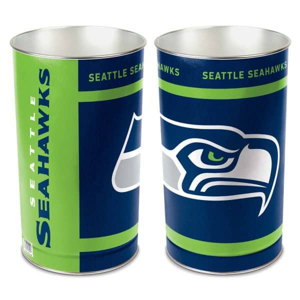 Seattle Seahawks Metall NFL Papierkorb