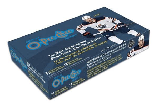 2020/21 Upper Deck O-Pee-Chee Hockey Hobby Box NHL
