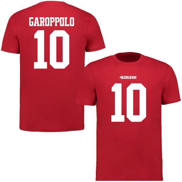 Jimmy Garoppolo #10 San Francisco 49ers Fanatics Player Script NFL T-Shirt