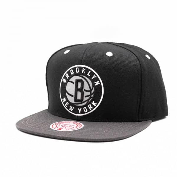 Brooklyn Nets Iridescent Mitchell & Ness Original Fit Snapback NBA Cap