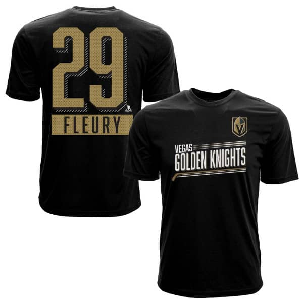 Marc-André Fleury #29 Vegas Golden Knights Icing NHL T-Shirt